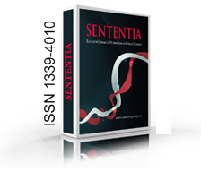 SENTENTIA. EUROPEAN JOURNAL OF HUMANITIES AND SOCIAL SCIENCES